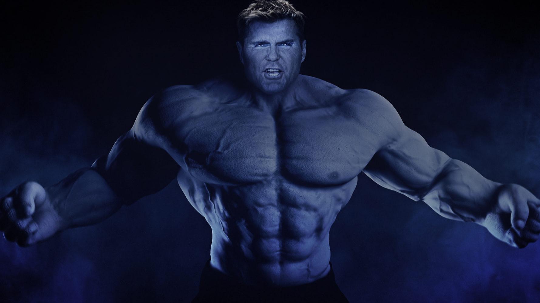 Bodybuilderin sucht